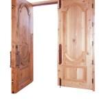 Greek style doors