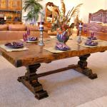 Dining Table Trestle Dining Table