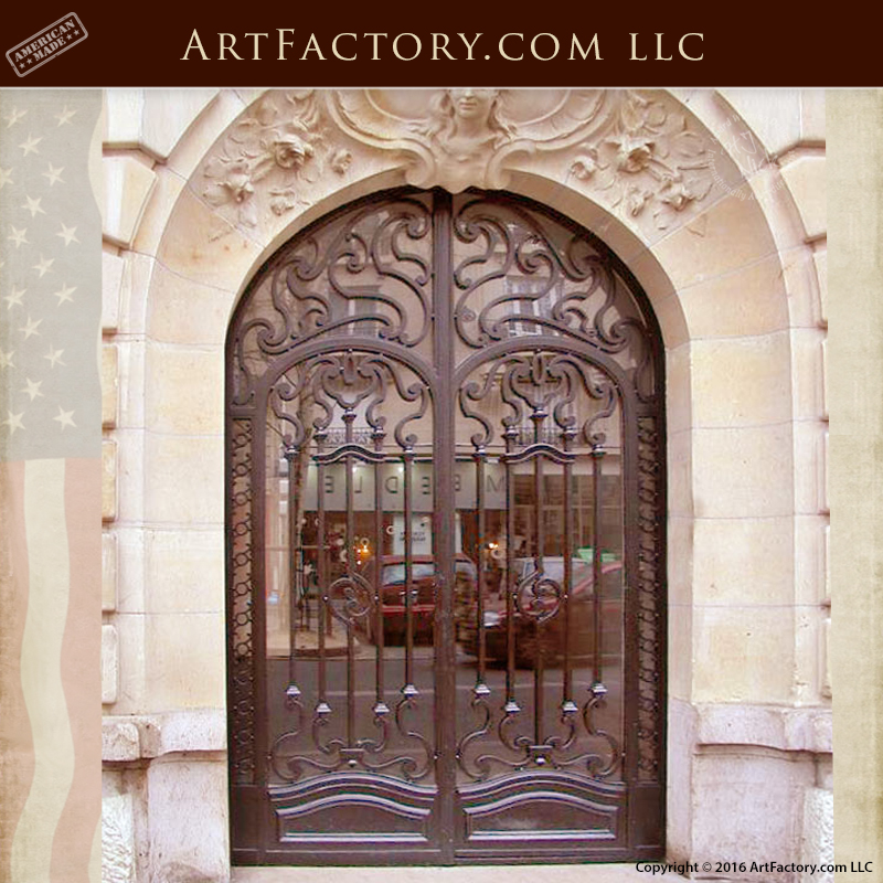 Historic gates iron