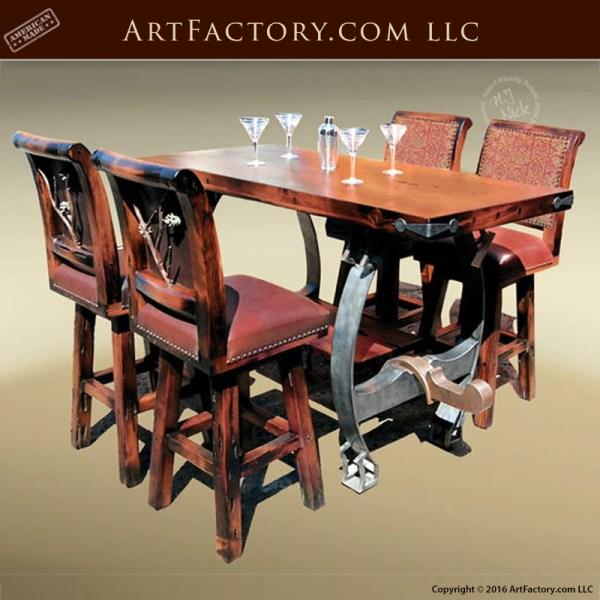 oxen yolk bar table