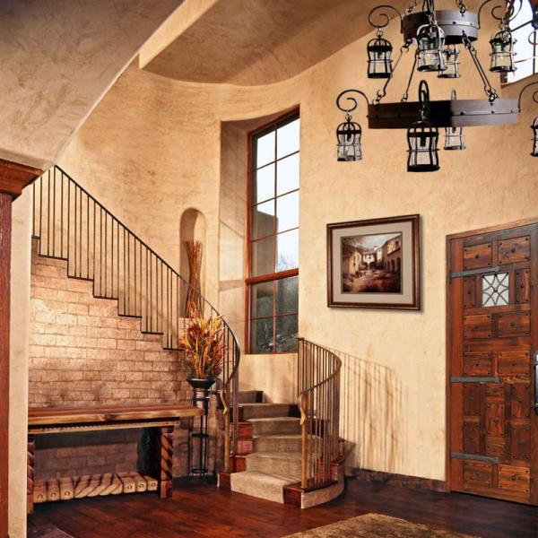Entry Foyer - Design From Historical Antiquity