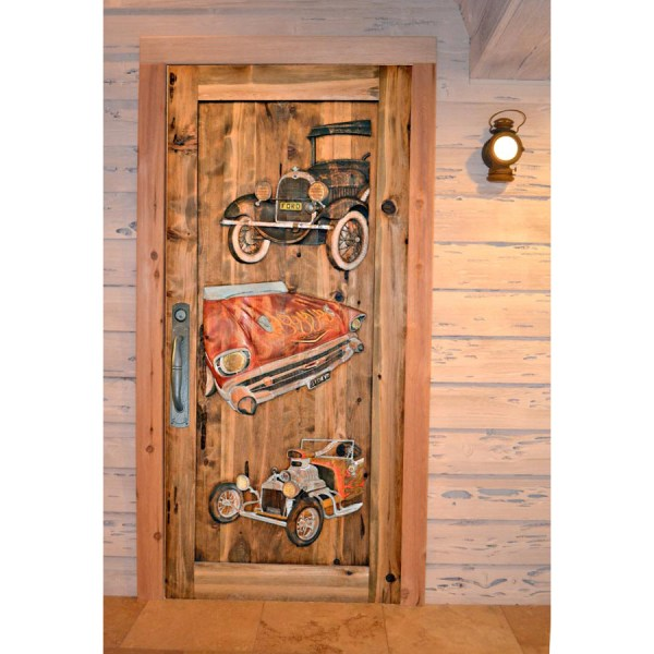Door Entrance Garage Entrance Door Fine Art