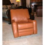 Custom Leather Recliner