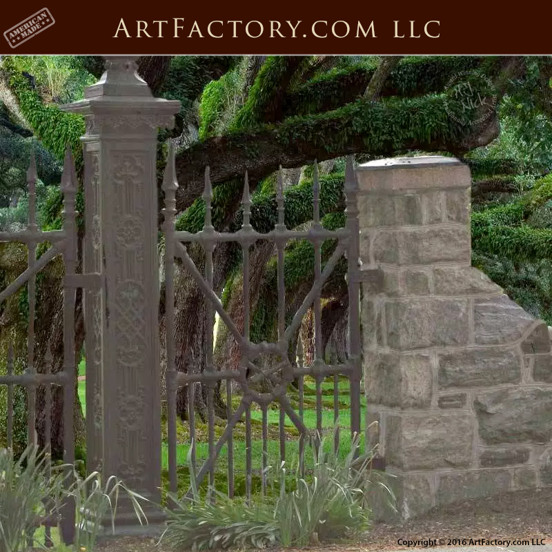 Wrought-Iron-Fence-Security-Fence
