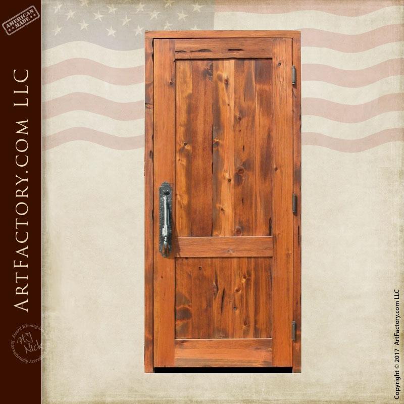 Custom Wooden Front Door Master Handcrafted In The Usa