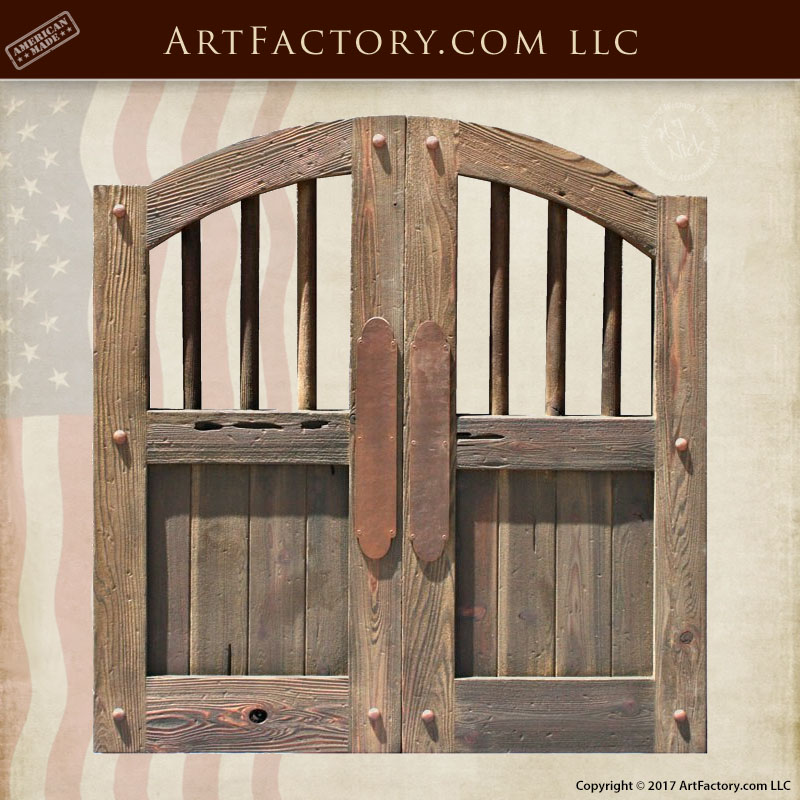 old west saloon doors & Old West Saloon Doors: Custom Handmade From Solid Wood