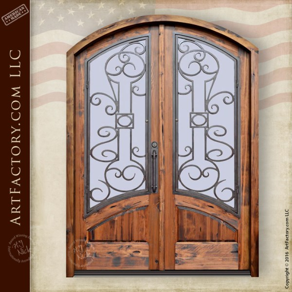 Custom Arched Entrance Doors