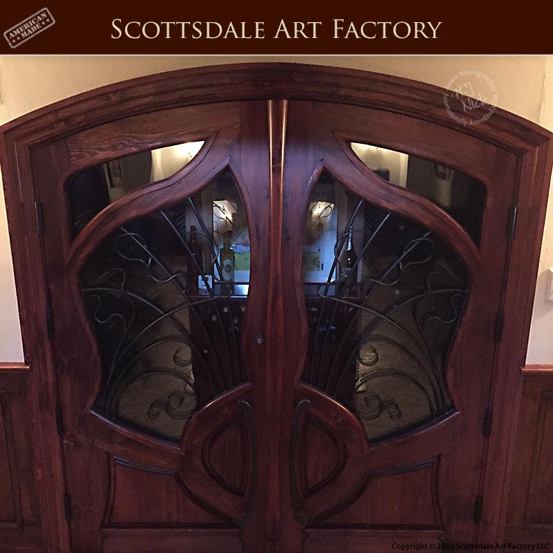 doors inspired by Jules Lavirotte