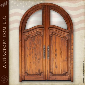 Custom Art Nouveau Arch Door