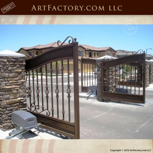 Custom Decorative Estate Gate