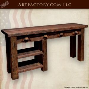 Custom Rustic Office Furniture