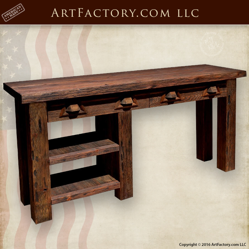 Custom Rustic Office Furniture