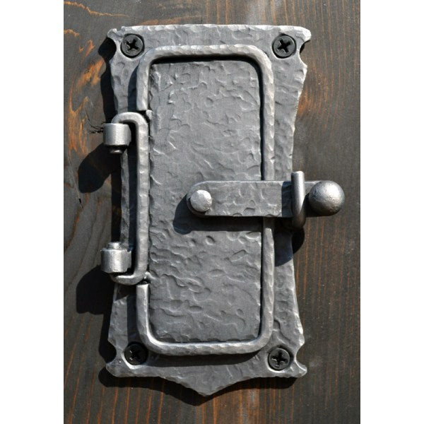 Speakeasy Portal Door Hand Forged Iron