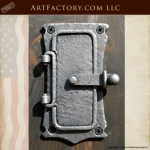 Medieval Speakeasy Door Portal