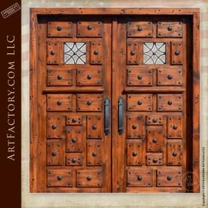 medieval style castle doors