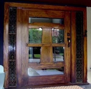 American craftsman style door