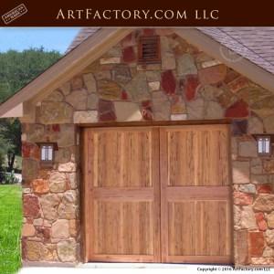 Custom Carriage Garage doors