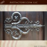 Custom Hinge Hand Forged Solid Wrought Iron