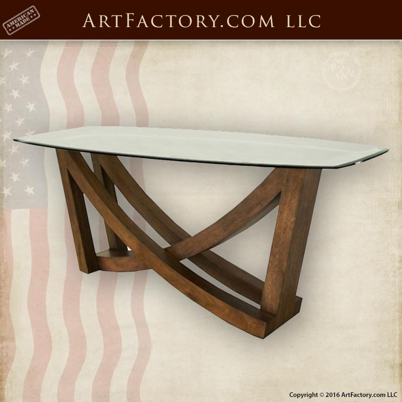 Contemporary Glass Sofa Table