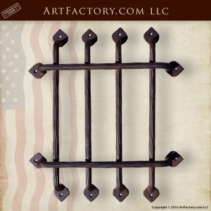Wrought Iron Portal Grill