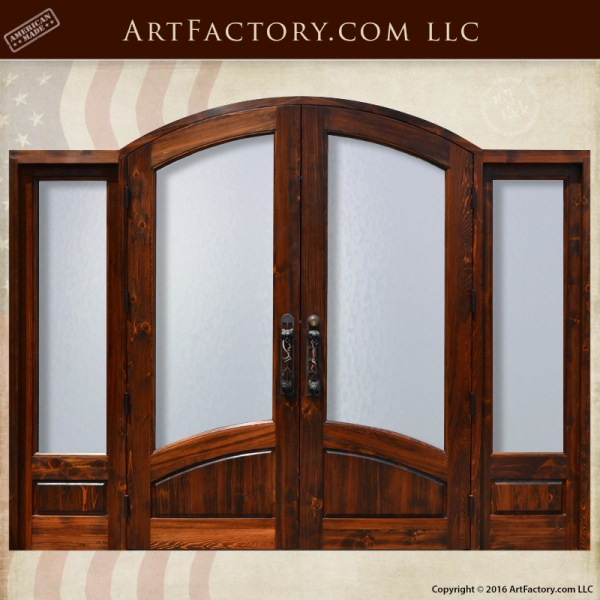 Arched-Entry-Doors-Custom-Wood-Double-Doors
