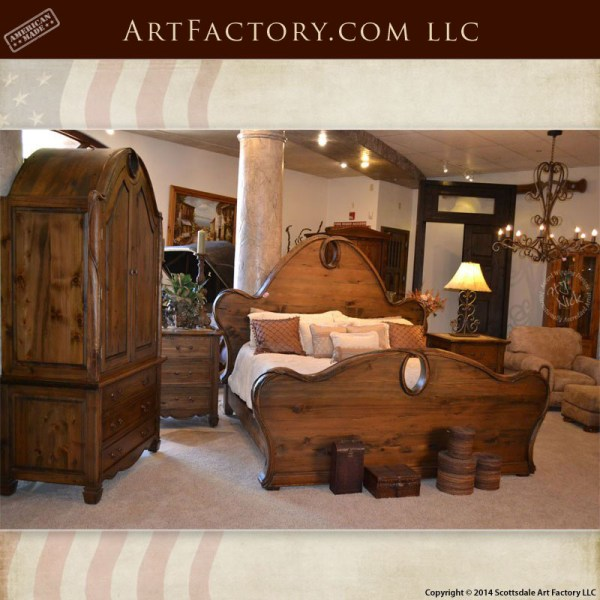 Fine Art Nouveau Style Bedroom Set Matching Bed Armoire And Download Free Architecture Designs Osuribritishbridgeorg