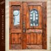 western style cowboy theme door