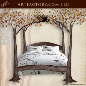 Artistic Iron Canopy Beds