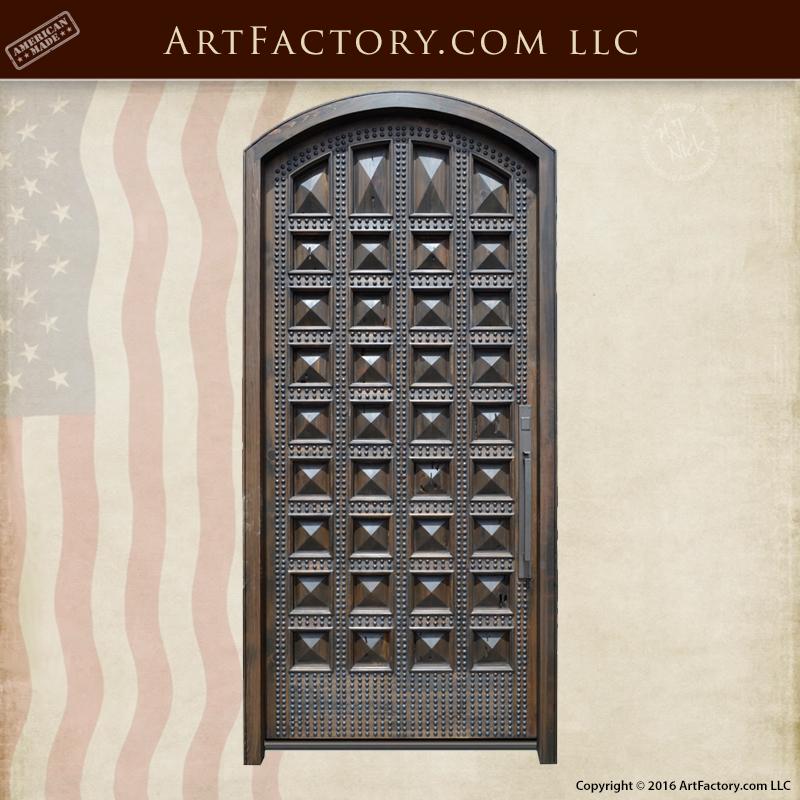 ... Wood-Door-Gothic-Medieval-Doors & Castle Doors Gothic Medieval Wood Iron Doors Solid wood
