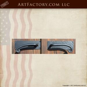 elegant custom door handles