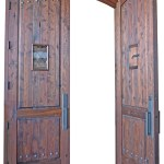 double doors iron grill
