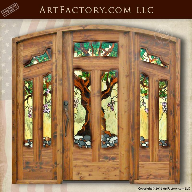 Stained Glass Craftsman Door: Design Inspired By Greene U0026 Greene U2013 8429AC