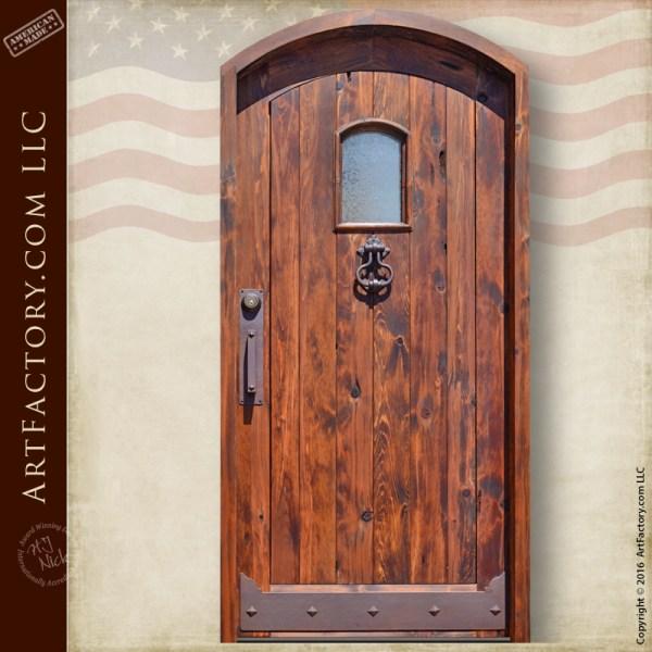 Eyebrow Arched Entrance Door
