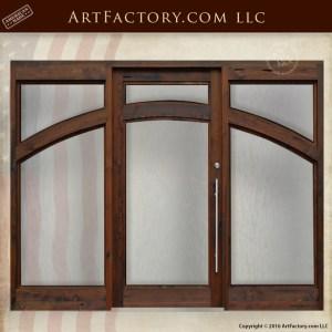 Custom Contemporary Grand Entrance Door