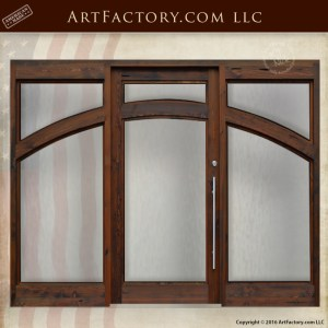 Custom Contemporary Grand Entrance Door
