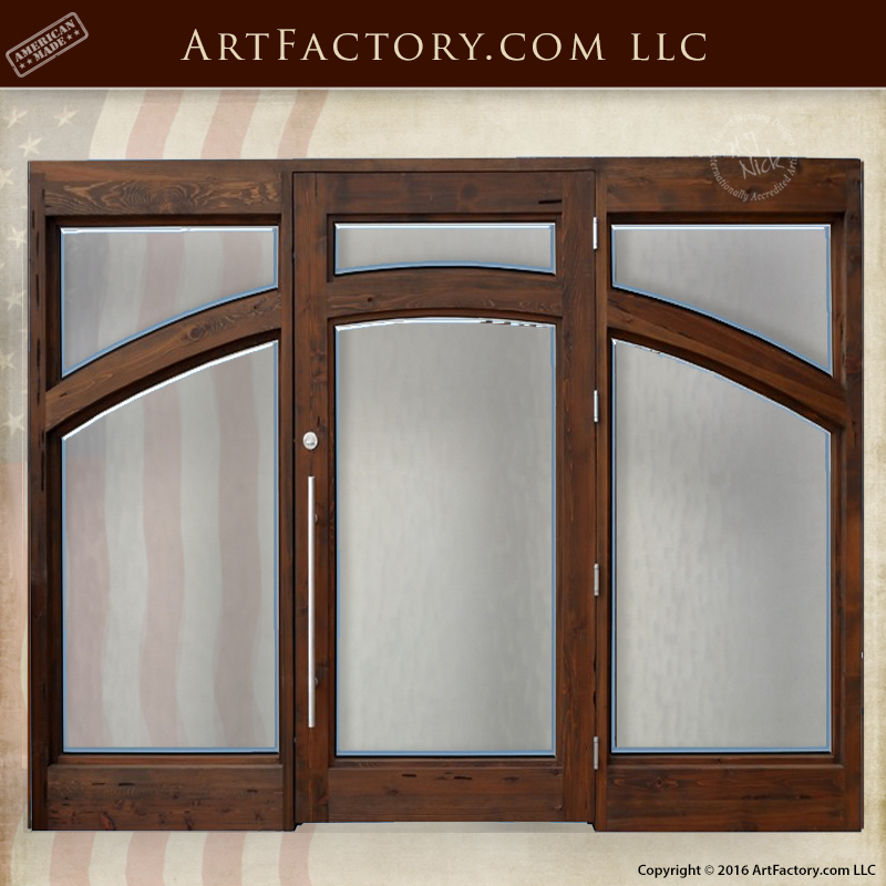 Custom contemporary grand entrance door tempered glass for Grand entrance doors