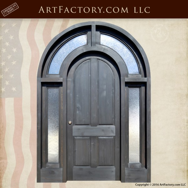 Arched Door With Side Lights | Full Arch Entrance Doors | Historic ...