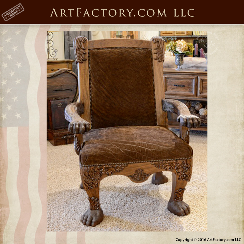 Chair-Safari-Style-Lion-Chair-Master-Hand-Carved