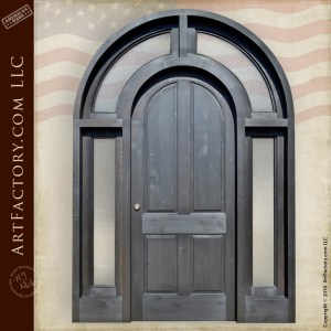Full Arched Grand Entrance Door