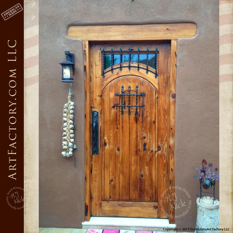 Rustic Wood Speakeasy Door Rustic Wood Speakeasy Door