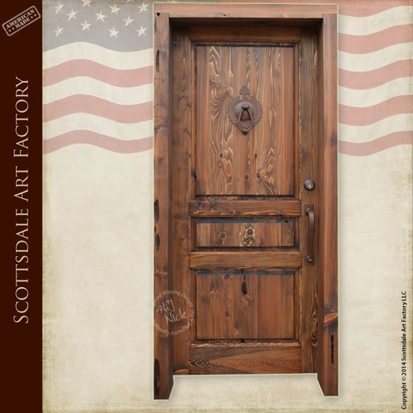 Custom wood entry door traditional style exterior doors for Traditional front doors