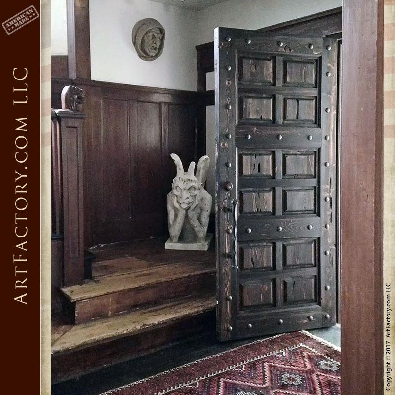 raised grain wood panel door customer photo