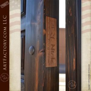 raised panel wood door