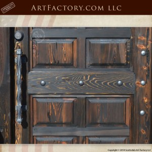 raised panel wood door