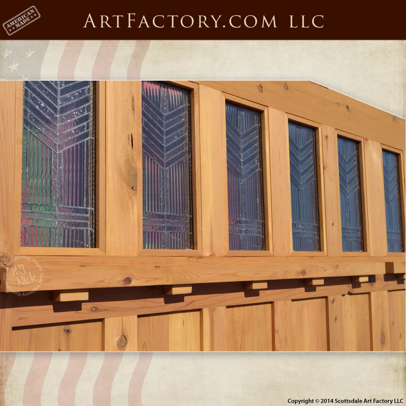 Craftsman style garage doors handcrafted from natural for Craftsman style garage lights