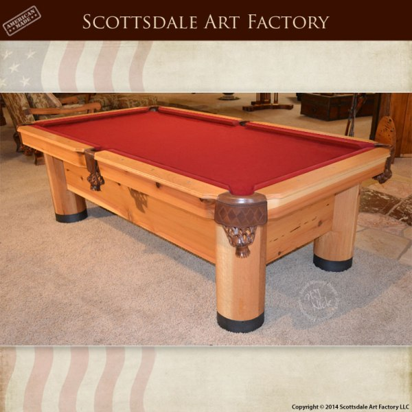 Handmade Custom Pool Table - Game Room Furniture Billiards
