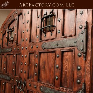 custom castle entrance doors