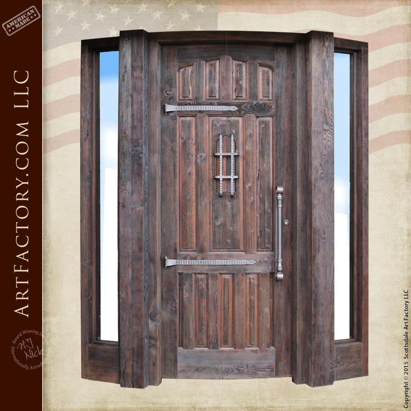 custom curved door
