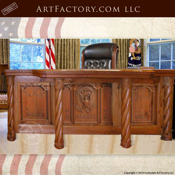 Presidential Oval Office Desk