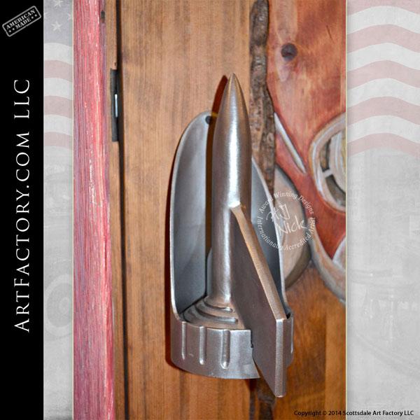 57 Chevy inspired door handles